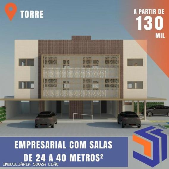 Sala Comercial Para Venda Em João Pessoa, Torre - 7533
