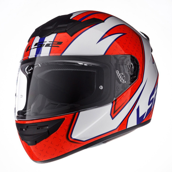 Casco Moto Ls2 352 Rookie Fire Rojo Ls2 Oficial Devotobikes