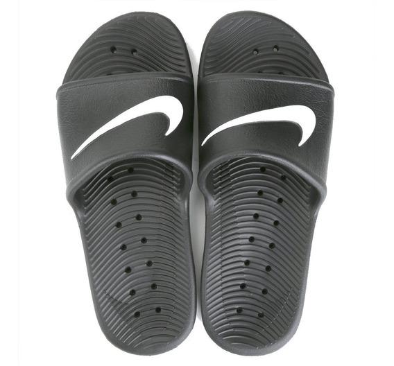 Chinelo Nike Preto Kawa Shower 832528-001 Original Na Caixa