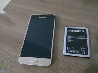 Celular Samsung J1 Sm-j120h/ds Com Defeito
