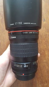 Lente Canon 135mm F2.0 + Metabones Iv Ef Para E-mount