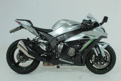 Kawasaki Ninja Zx 10r Abs 2018 Prata
