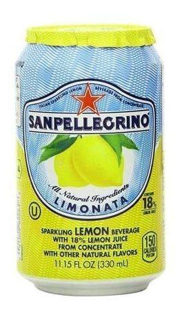 San Pellegrino Limonata Lata De 330 Ml