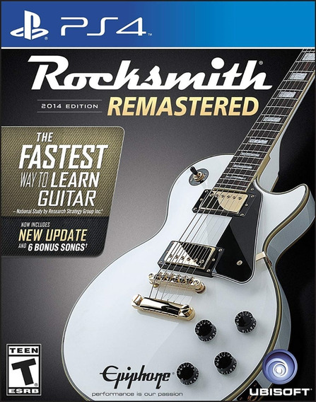 Rocksmith Real Cable Ps4, Ps3, 360, One, Pc Ubisoft Original