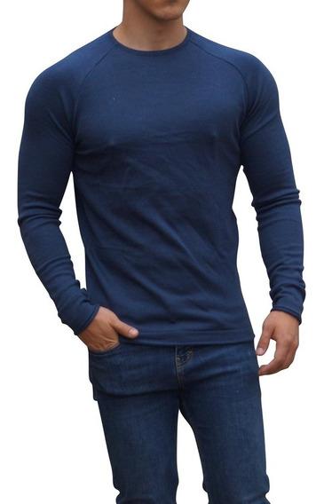 Sweater Cardigan John Leopard Moda Hombre Invierno