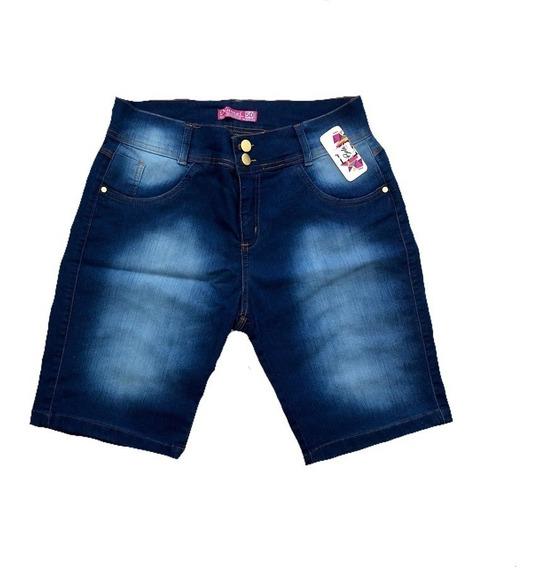 Short Shortinho Verao Hot Pant Grande Cintura Alta Plus Size