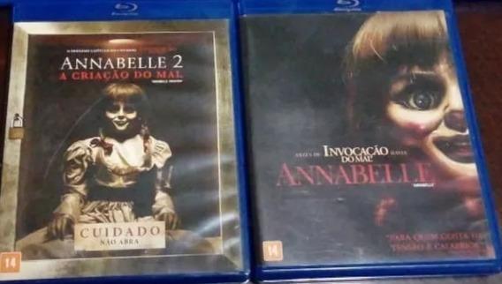 Blu-ray : Annabelle 1 E 2 - Filme Terror Anabele Original