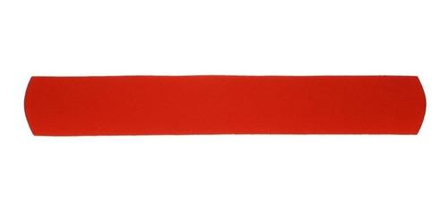 Refil Para Barrigueira Reta Em Neoprene Vermelho Shark Skin