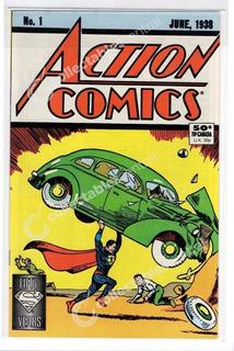 Comic Superman Action Comics No 1 Re-issue 1988 Americano
