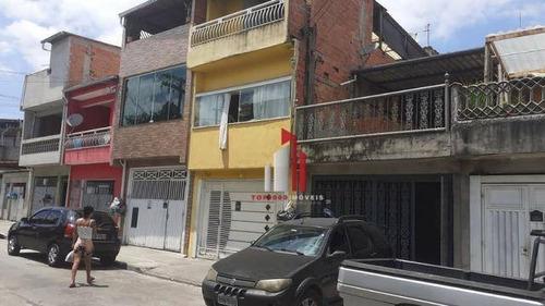 Casa Com 1 Dormitório À Venda, 150 M² Por R$ 185.000,90 - Jaraguá - São Paulo/sp - Ca0110
