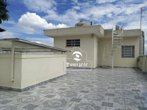 Sobrado Com 3 Dormitórios À Venda, 216 M² Por R$ 830.000,00 - Jardim Stella - Santo André/sp - So2623