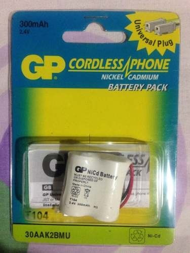 Bateria Recargable Gp T104 2.4v