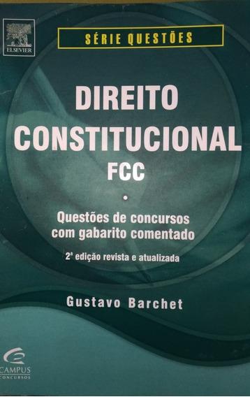 Livro - Direito Constitucional Fcc Série Questões .