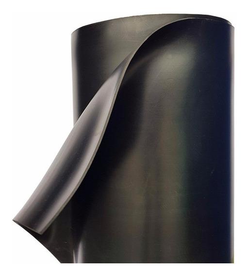 Hule Neopreno Sbr Negro 1/8 De Espesor Rollo 1.22m X 10 M