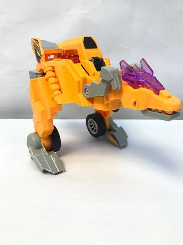 Carro Dinosaurio Transformes Pila Niño
