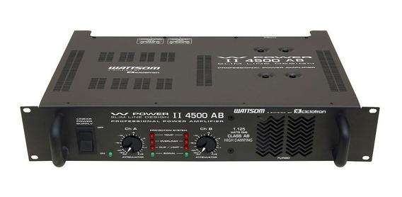 Potência Ciclotron W Power 4500 1125w Rms