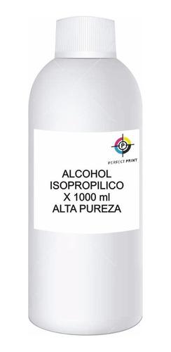 Alcohol Isopropilico X 1000 Cc 1 Litro Alta Pureza 99,8%