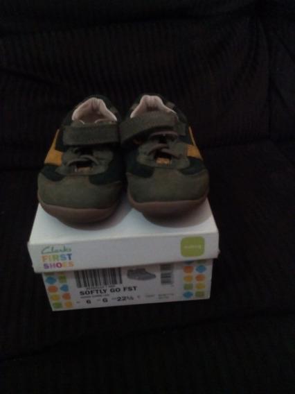Zapatos Niño Marca Clarks Originales