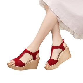 Sandálias Vintage De Salto Alto De Mulheres