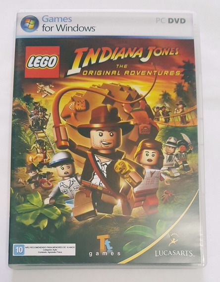 Pc Dvd Games For Windows Lego Indiana Jones