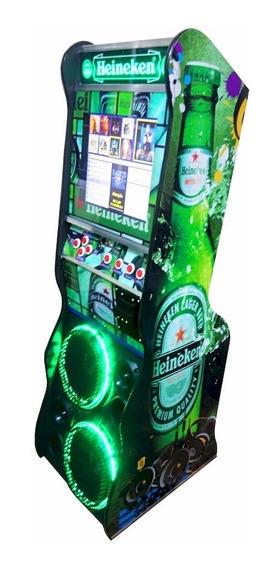 Maquina De Musica Jukebox 17 Polegadas Em Led Da Infozé