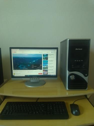 Cpu E Monitor, Computador Pc Desktop Placa Mãe Dell 560s