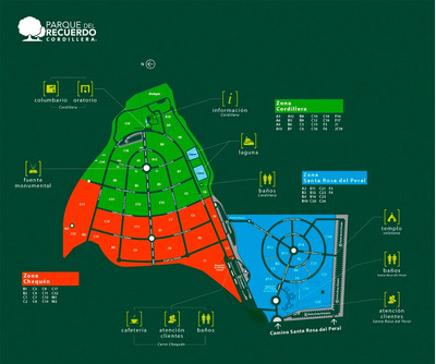 Sepultura Parque Del Recuerdo Cordillera; Cap. 7 ; 4 Reduc.