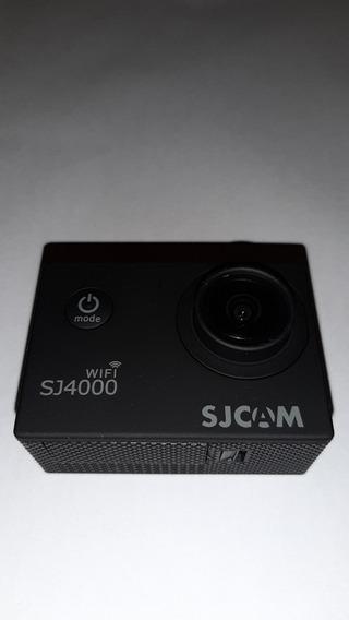 Câmera De Ação Sjcam 4.000 Wi-fi +case