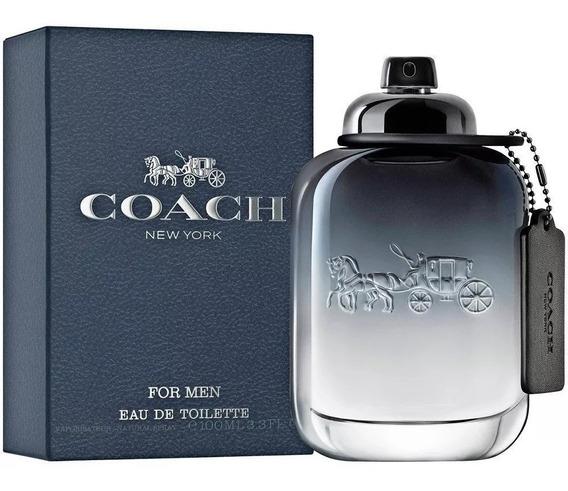 Perfume Coach New York For Men Edt 100ml Original