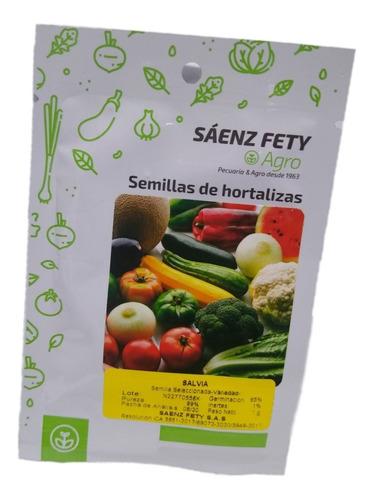 Semilla De Aromatica Salvia Sobre 1 Grms