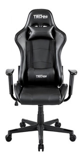 Silla Gamer Reclinable 180 ° Negro - Technisport