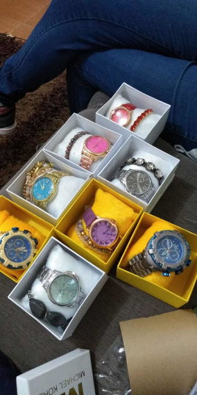 Relógio Feminino Acompanha Pulseira
