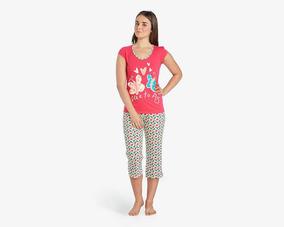 Pijama Vicky Form Rosa Pr-3029182