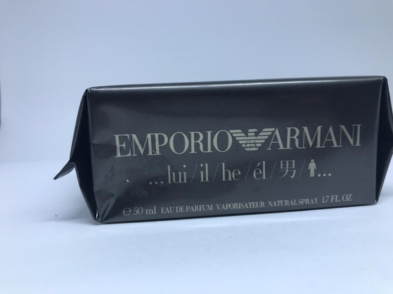 Emporio Armani He 50ml Edp Original Entrega 24h