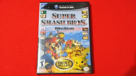 Super Smash Bros Nintendo Game Cube Original Completo