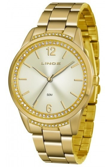 Relógio Lince Feminino Lrgj075l C2kx Dourado - Refinado