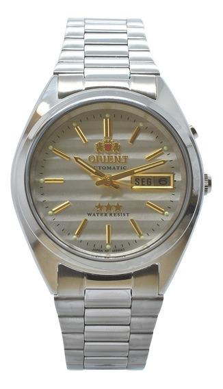Relógio De Pulso Orient Automático Unissex 469wa3 B1sx - Pra