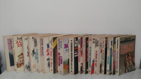 Lote 17 Livros Romance Da Literatura Estrangeira Ed. Anos 80