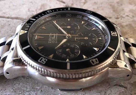 Cronografo Zenith El Primero Raibow Mecanismo Rolex Daytona