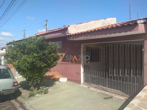 Imagem 1 de 9 de Casa Com 2 Dormitórios À Venda, 74 M² Por R$ 180.000,00 - Residencial Das Flores - Rio Claro/sp - Ca0486