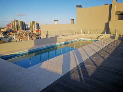 Imagen 1 de 19 de Monoambiente Divisible Con Cochera - Edificio Con Amenities  - Venta - Boca