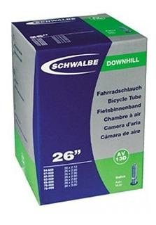 Schwalbe 20x2.1-3.0 Dh Tube Schrader Av7d - Negro De Schwalb