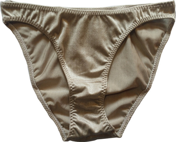Bikini Pantaleta Satinada Importada Tipo Britanica