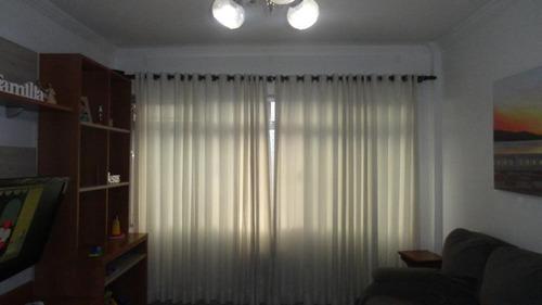Apartamento Com 3 Dormitórios À Venda, 110 M² Por R$ 510.000,00 - Vila Matias - Santos/sp - Ap5046