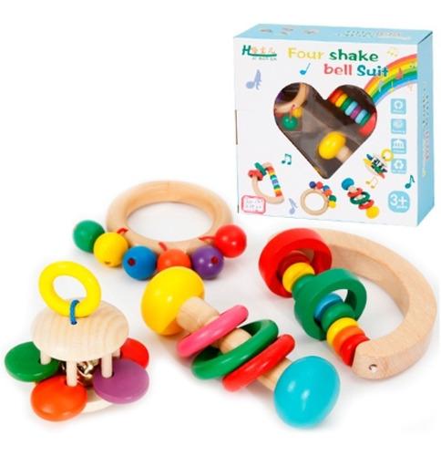 Sonajeros Cascabeles Montessori Didactico