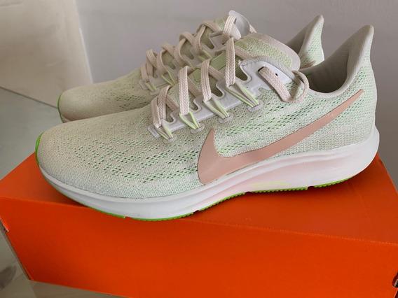 Tenis Nike Air Zoom Pegasus 36 - Verde Fem 39