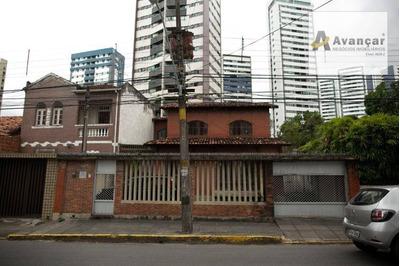 Casa Com 3 Dormitórios À Venda, 174 M² Por R$ 800.000 - Aflitos - Recife/pe - Ca0127