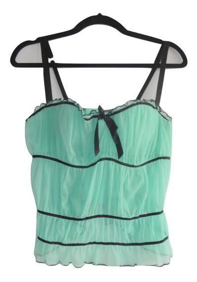 Victorias Secret Lencería Bra Bustier Aqua 36b