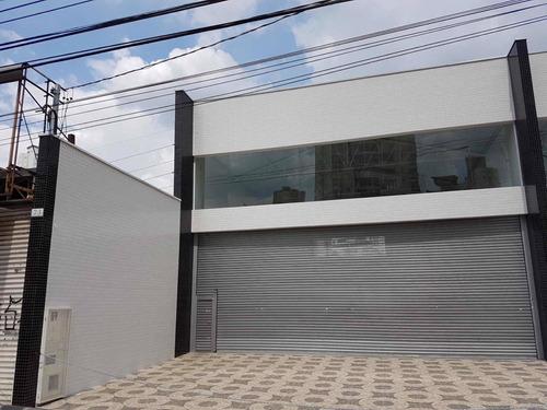 Imagem 1 de 13 de Excelente Loja / Salão  Novo 10 M Frente, Pé Direito