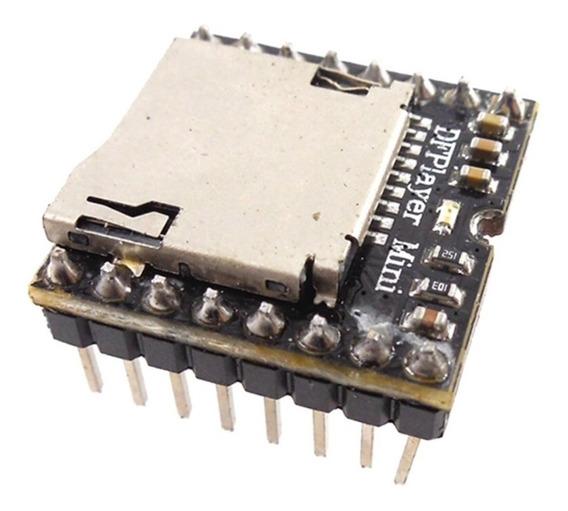 Modulo Mp3 Player Dfplayer Mini Para Arduino